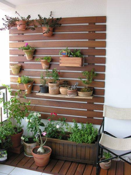 fotos jardim horizontal : fotos jardim horizontal:Jardim Vertical Com Paletes