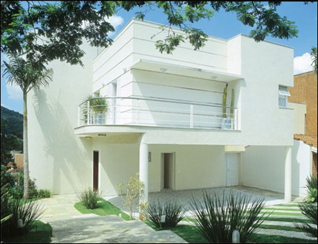 Fachadas de casas residenciais fotos e modelos dooda - Modelos de fachadas de casas modernas ...