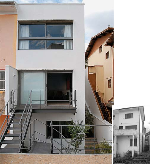 Decora o e projetos reforma de casas antes e depois - Reformas en casas pequenas ...