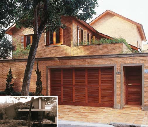 Reforma de casas antes e depois for Modernizar fachada casa