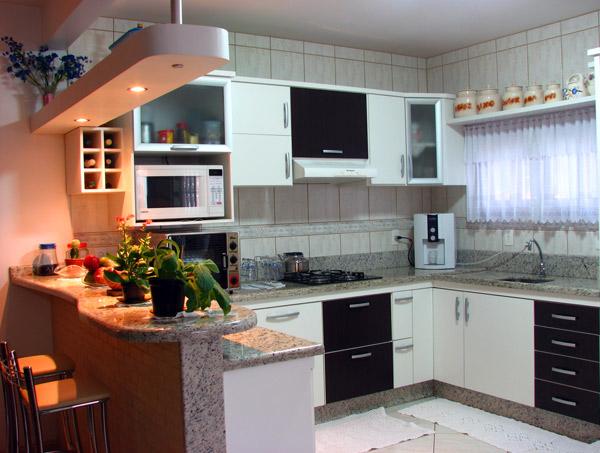 Decoração e Projetos ARMÁRIOS DE COZINHA PLANEJADOS PARA APARTAMENTO # Armario De Cozinha Planejado Em U