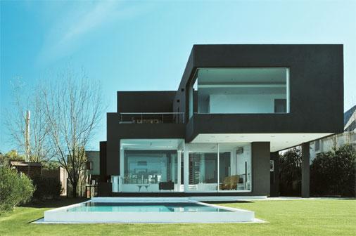 Ideias de cores para fachadas for Cores modernas para fachadas de casas 2013