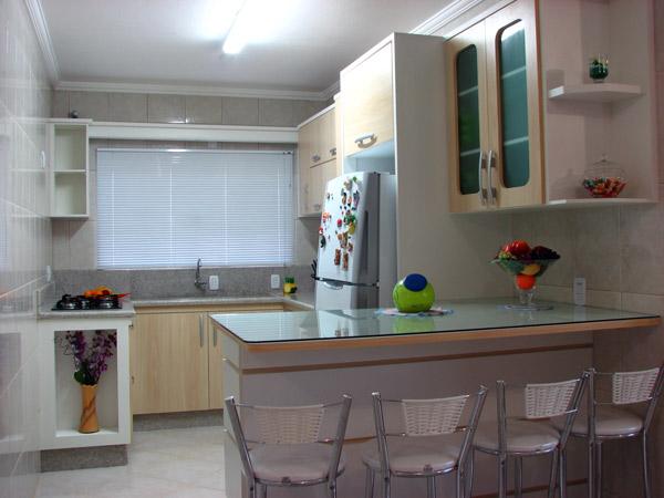 Projetos – Armários de cozinha planejados para apartamento