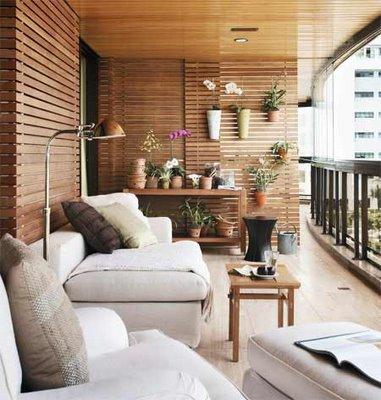 Decora o e projetos fotos de sacadas decoradas com plantas for Para desarrollar su apartamento con terraza