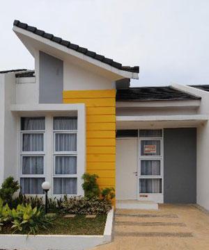 Ideias de cores para fachadas for Casas bonitas pequenas fachadas