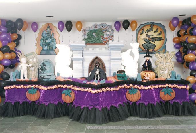 DECORA u00c7ÃO PARA FESTAS DE HALLOWEEN -> Decoração De Festas De Halloween