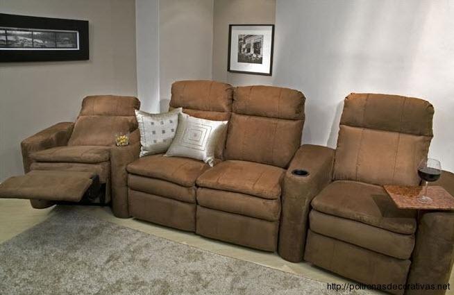 Decora o e projetos modelos de sof s retr teis fotos - Fotos de sofa ...