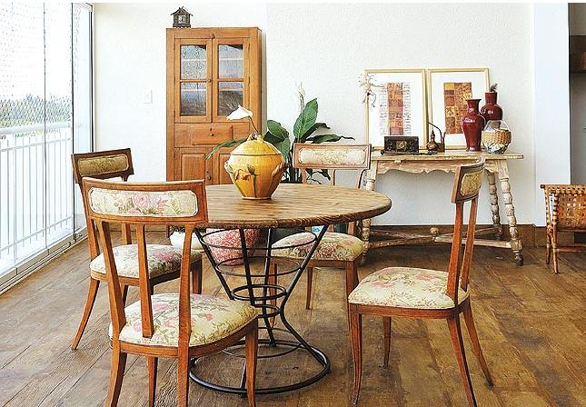 Sala De Jantar Com Moveis Rusticos ~ Decoração e Projetos – Decoração de sala com moveis rústicos