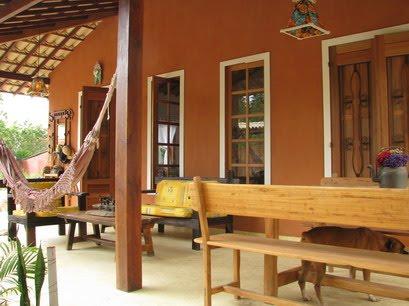 Decora o e projetos casas de campo com varandas fotos - Casas de campo restauradas ...