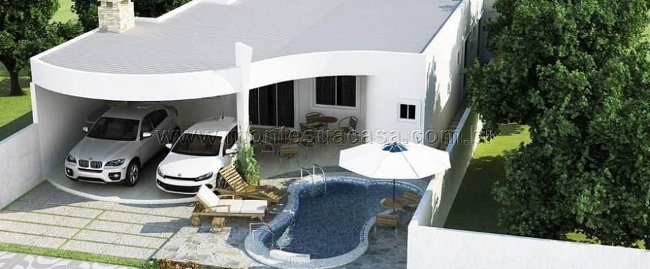 Decora o e projetos projetos de casas grandes e modernas for Casas grandes modernas