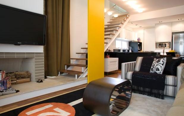 Decora o e projetos decora o para lofts pequenos e modernos - Loft pequeno ...