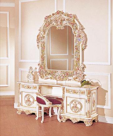 decora o e projetos penteadeiras antigas na decora o. Black Bedroom Furniture Sets. Home Design Ideas