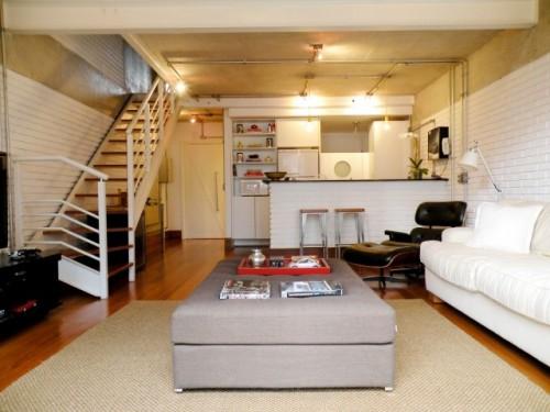 Decora o para lofts pequenos e modernos - Loft pequeno ...