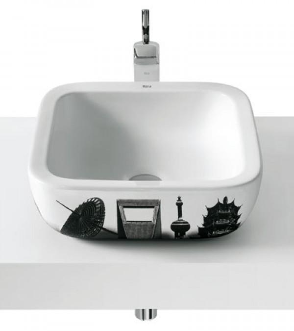 Decoração e Projetos – Cubas para banheiro Deca, Celite, Roca -> Cuba Para Banheiro Roca