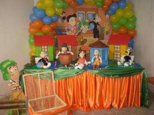 Decoração e Projetos – Decoração do Chaves para aniversário
