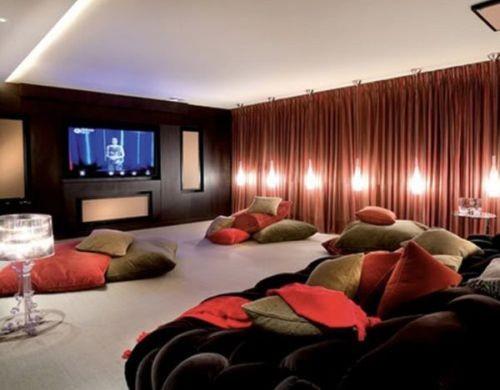 Decora o e projetos decora o de cinema em casa - Realizzare sala cinema in casa ...