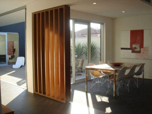 Decora o e projetos fotos de divis rias de casas for Como e dining room em portugues