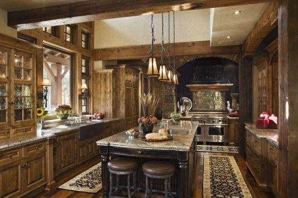 decorar cozinha rustica:Decoração e Projetos – Decoração Rústica para Cozinhas