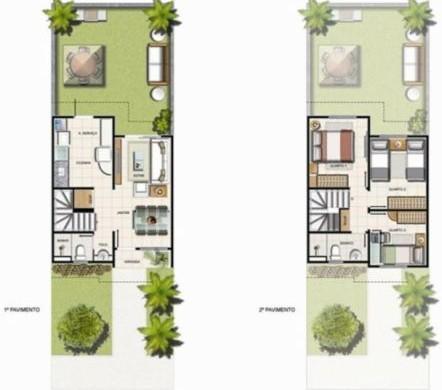 Decora O E Projetos Plantas De Casas Duplex