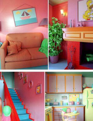 Casa dos Simpsons (Foto: Divulgação)