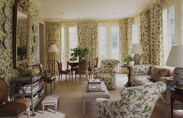 Investir na decoração com cortinas estampadas é a forma mais rápida de deixar seu lar mais intimista (Foto: Divulgação)