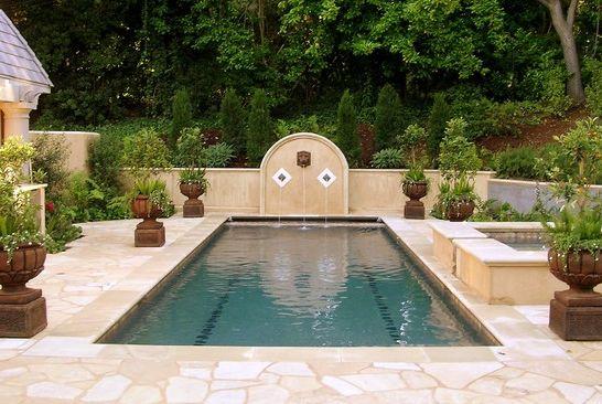 Decoração e Projetos – Decoração de Jardim com Piscinas