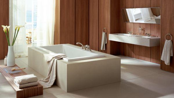 A decoração contemporânea para banheiro deixará todo o seu espaço mais interessante (Foto: Divulgação)
