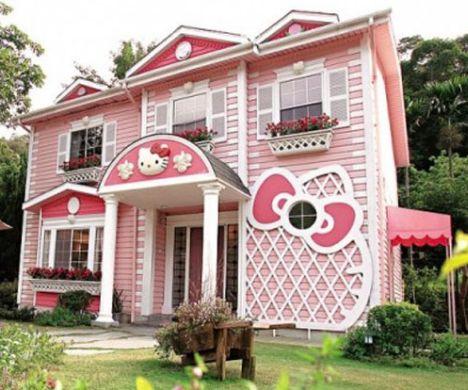 Casa da Hello Kitty (Foto: Divulgação)