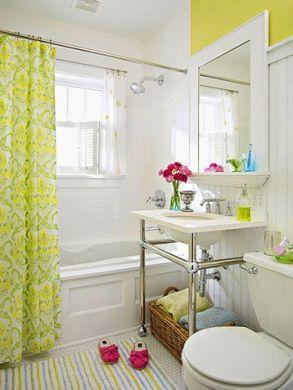 Decora o e projetos decora o de casa de banho pequena for Remodelar bano chico