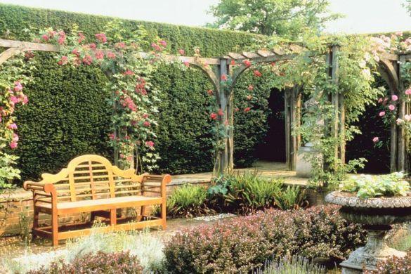 A decoração de muros com plantas além de muito charmosa e propícia para integrar a natureza à sua casa, ainda é a alternativa mais econômica para cobrir o muro (Foto: Divulgação)