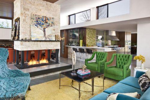 A tendência verde esmeralda na decoração veio para deixar seus ambientes mais harmoniosos (Foto: Divulgação)