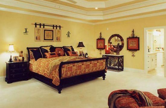 Investir em uma bela decoração oriental para quarto deixará toda a sua casa com clima renovado (Foto: Divulgação)