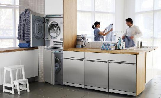 decoracao cozinha e area de servico integradas:decoração para área de serviço integrada deve ser a mais