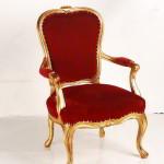 cadeira antiga luxuosa