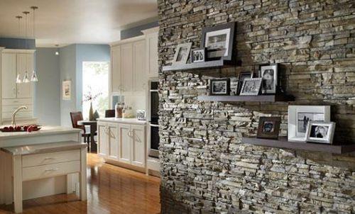 Decora o e projetos decora o de casa com pedra palito for Piedras naturales para decoracion interiores