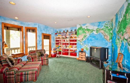Criar um quarto de brinquedos é mais fácil do que você imagina, e seus filhos irão agradecer efusivamente (Foto: Divulgação)