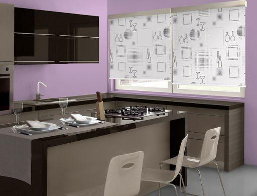 Invista em decoração de cozinhas com cortinas e mude drasticamente o clima de sua casa (Foto: Divulgação)