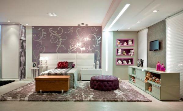 Decoração criativa para quarto feminino é alternativa para quem já está enjoada do visual de seu quarto (Foto: Divulgação)