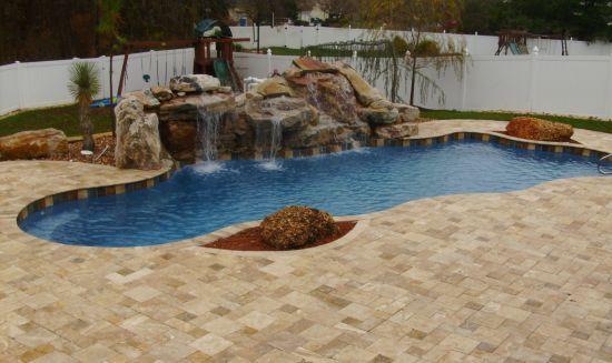 Decora o e projetos decora o com piscinas diferentes - Formas de piscinas ...