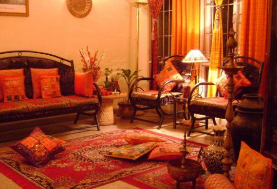 A decoração indiana para casas deixa todos os ambientes mais divertidos e descontraídos (Foto: Divulgação)