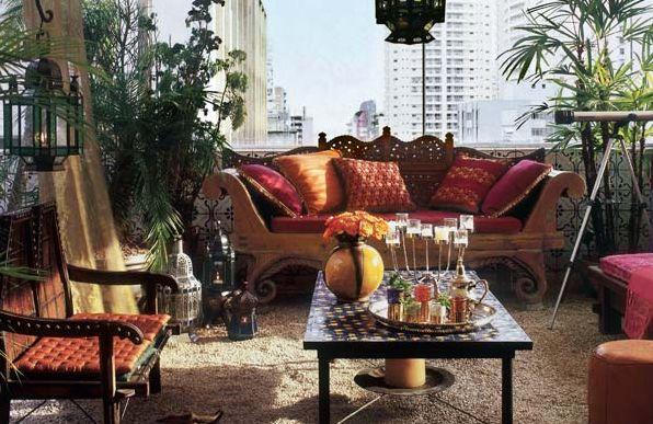 Os toques indianos na decoração de ambientes é ótima solução para repaginar a decoração de sua casa (Foto: Divulgação)