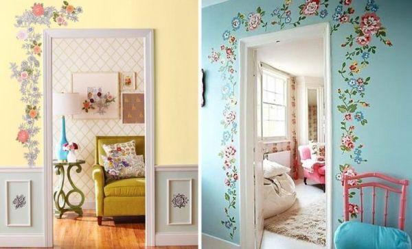 A decoração ao redor da porta deixará toda a sua casa com clima diferenciado (Foto: Divulgação)