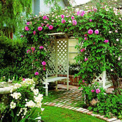 caramanchão para jardins