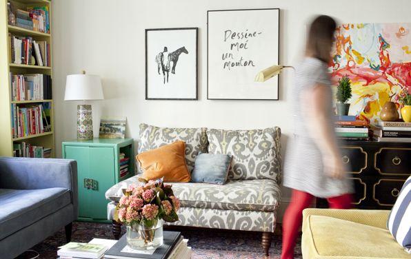Para decorar apartamento alugado basta investir em peças com forte apelo pessoal (Foto: Divulgação)