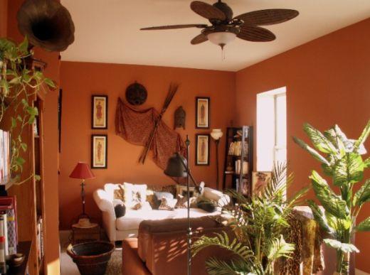 A decoração exótica com estilo africano deixará sua casa com visual diferenciado (Foto: Divulgação)