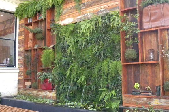 A decoração de jardim em estantes deixará seu lar muito mais harmonioso e com clima descontraído (Foto: Divulgação)