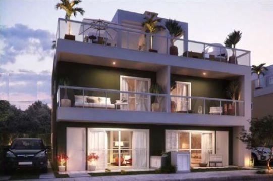 Os projetos de casas tríplex são perfeitos para quem busca espaço e conforto para toda a família (Foto: Divulgação)