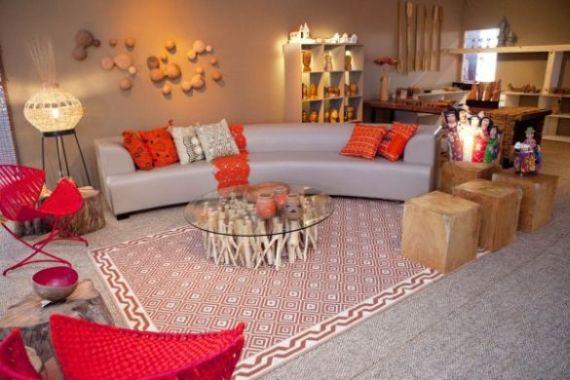 A decoração artesanal para salas é ótima saída para quem quer diversificar o estilo da decoração de sua casa (Foto: Divulgação)