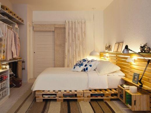 A decoração ecológica para quartos garante visual diferenciado e mais qualidade de vida para o morador (Foto: Divulgação)
