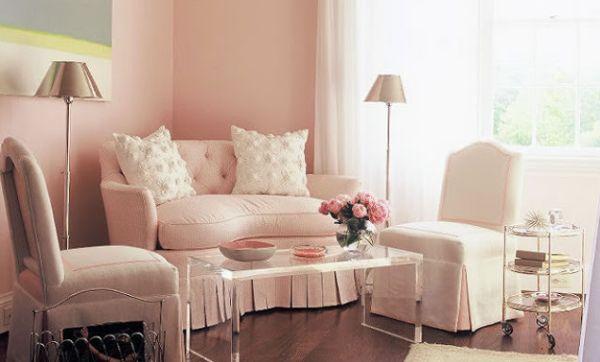 A decoração romântica para sala deixará o clima de sua casa mais interessante e você com humor muito mais leve (Foto: Divulgação)